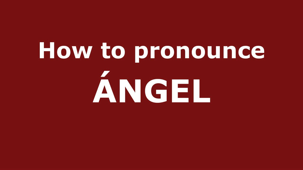 how to say angle in spanish