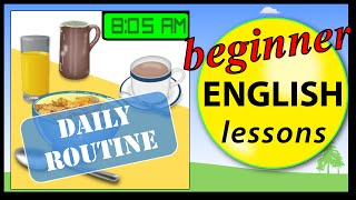 Download Video Daily routine in English | Beginner English Lessons for Children MP3 3GP MP4