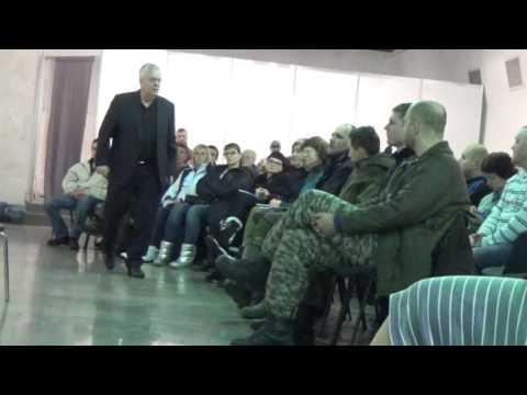 Тренинг психолога Пьюселика для ветеранов АТО. День  2, часть 1.  13.XII.2016 Kiev, Ukraine, part-1