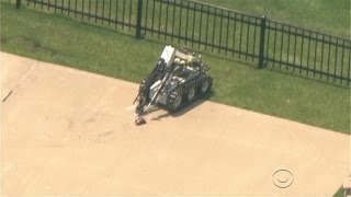 Dallas PD killed shooter with robotic bomb