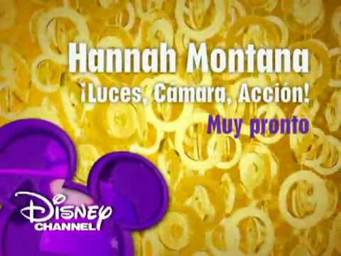 Hannah Montana- ¡Luces, cámara, acción! (Promo 1) - Disney Channel Spain