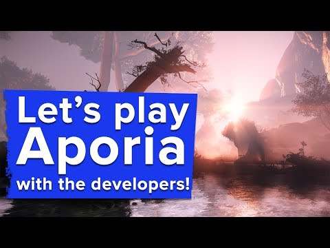 Let's Play Aporia: Beyond the Valley with the developers!