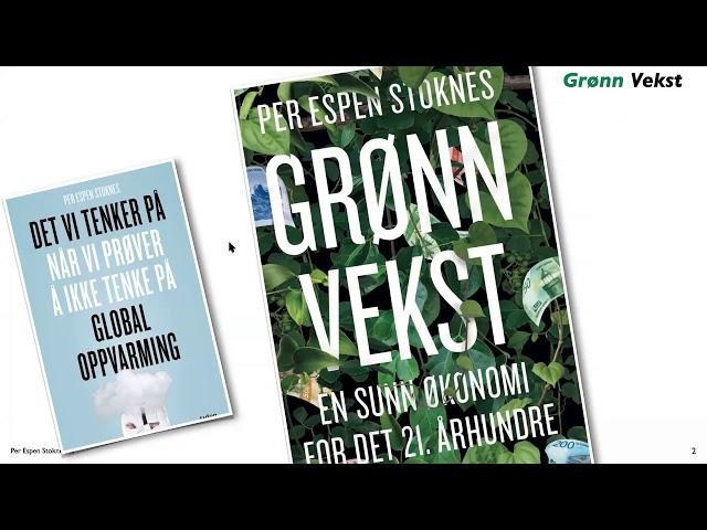 Day Zero konferansen 2021 - Per Espen Stoknes: Hva er grønn vekst og er det mulig?