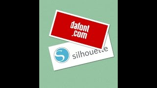Importing fonts from Dafont.com to Silhouette Studio Tutorial