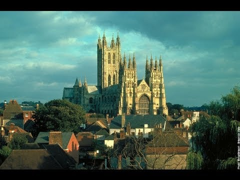 Beautiful Canterbury Cathedral and The Canterbury Tales