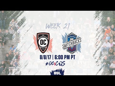 USL LIVE - Orange County SC vs Colorado Springs Switchbacks FC 8/8/17