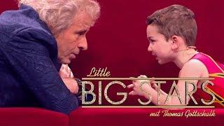Das Nachwuchstalent im Turnen (Ali) | Little Big Stars mit Thomas Gottschalk | SAT.1
