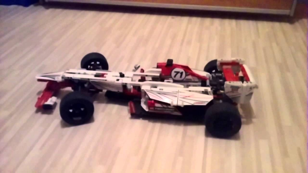 Lego Technic Rennauto Youtube