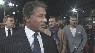 Sylvester Stallone on his hopes for the Oscars, on Ryan Coogler reinventing the franchise,