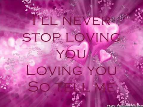 George Lie To Me With Lyrics