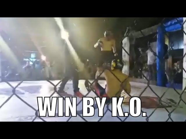 Jimuel Pacquiao wins first amateur fight by KO (knockout) | BT