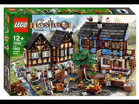 Lego Castle - Medieval Market Village - YouTube