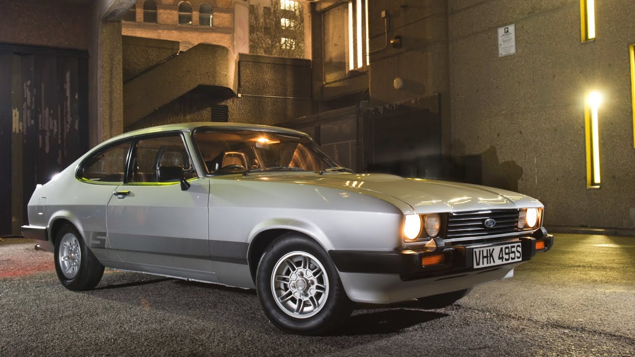 Featured The Professionals 1978 Ford Capri Youtube