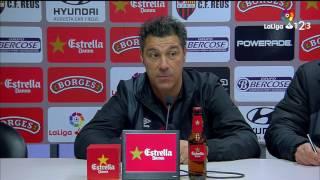 Rueda de prensa de Javier Olaizola tras el Reus vs RCD Mallorca (1-1)
