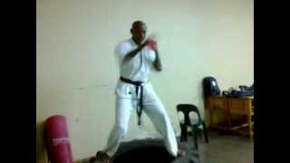 Kyukushin Karate training session 2013 April 2nd 022 ( Soshanguve- Falala)