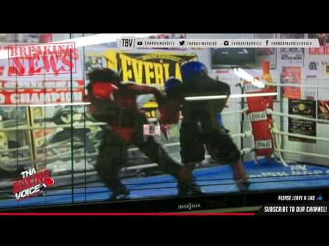 Leaked Sparring Footage Keith Thurman vs Shawn Porter Exclusive