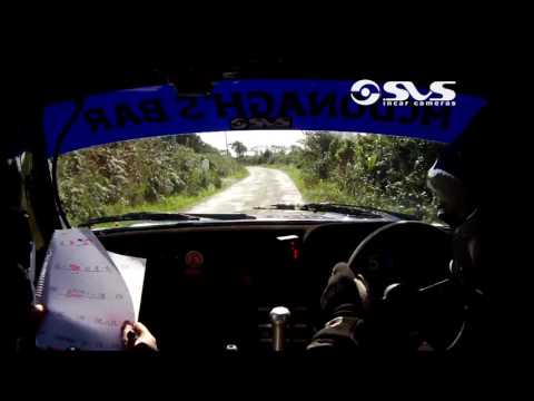 2016 Wexford Stages Rally - Richard Cleary & Niamh Holland - Stage 13
