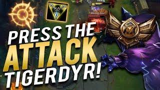 PRESS THE ATTACK TIGERDYR!! | LEAGUE IS FUN AGAIN?! Trick2G