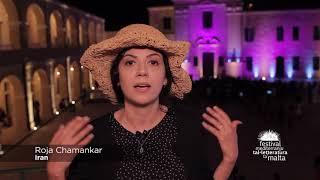 12 Roja Chamankar about the Malta Mediterranean Literature Festival 2016