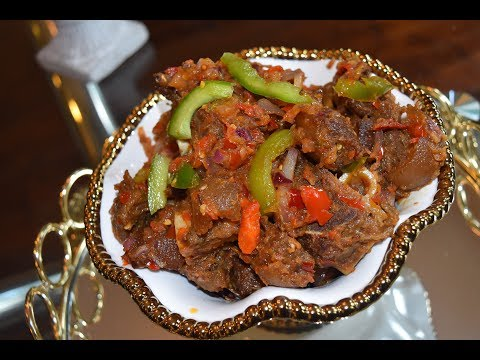 Easy Goat Meat ASUN Recipe || Cooking With CHISOM HARRIET ||