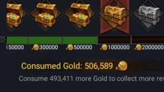 Clash of Kings : Spending 500.000 GOLD