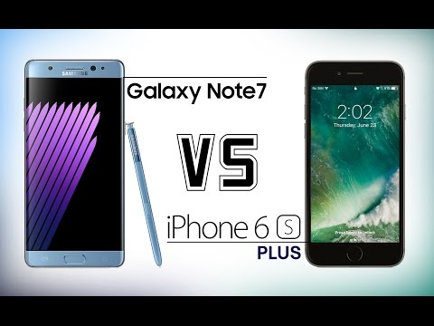 Samsung Galaxy Note 7 vs iPhone 6S Plus - Which Should You Buy?