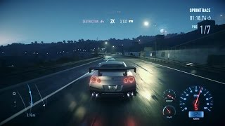 Need For Speed 2016 PC - 2017 Nissan GT-R Premium Fully Upgraded Gameplay [March Update]