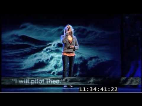 Jesus Savior Pilot Me live at Willow Creek - Becky Johnson and Shauna  Niequist