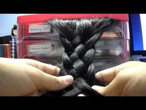 How to: 5 strand plait/braid.