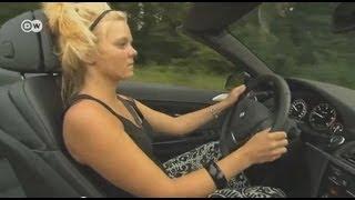 Блондинка за рулем: тест-драйв кабриолета BMW 6-й серии