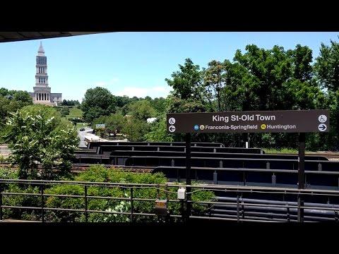 King Street-Old Town Metro Station - Washington DC Metro Yellow/Blue lines