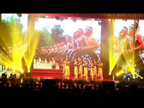 [2015.11.29] Múa Âm vang Tây Nguyên - Dhs Việt Nam trường Bưu điện Trùng Tránh (Trung Quốc)