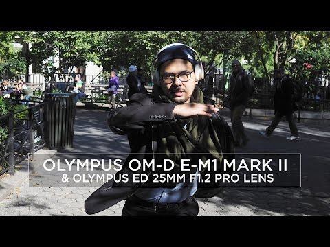 OLYMPUS OM-D E-M1 MARK II : 15 Minute Photo Challenge with Daniel Norton