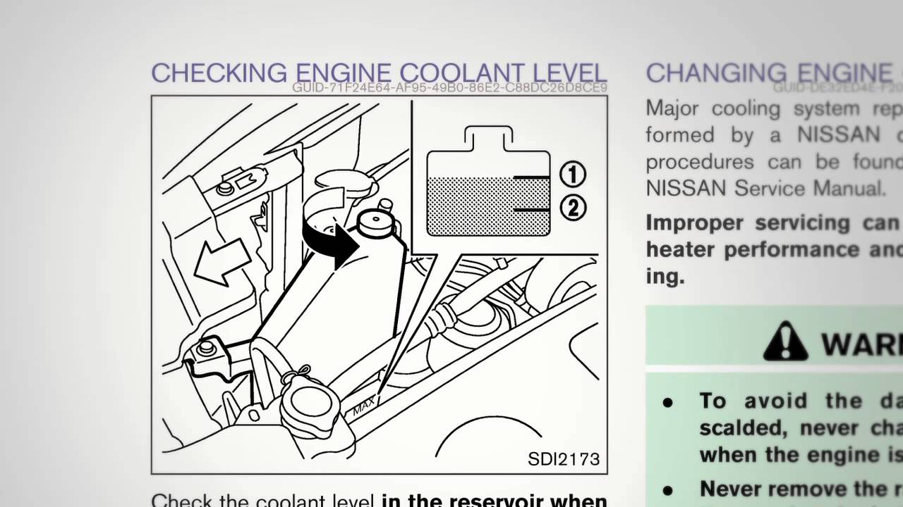 small resolution of 2012 nissan murano fluid check points