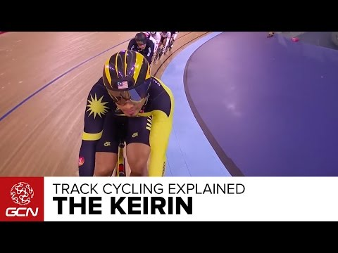 The Keirin Explained – GCN's Guide To Track Cycling