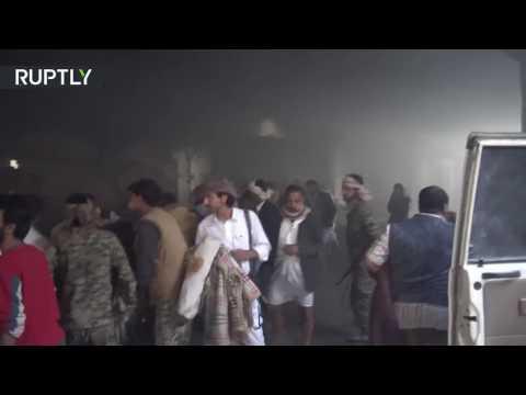 В Йемене более 450 мирных жителей пострадали при авианалете саудовских ВВС