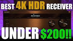 The BEST 4K HDR Home Theater Receiver UNDER $200! - Sony STR-DH590 Review