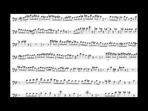 Carl Fontana 'Cherokee' Trombone Solo Transcription