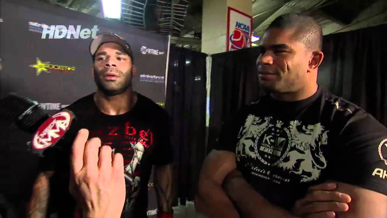 Inside MMA Talks To Alistair And Valentijn Overeem   YouTube