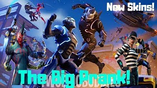 Fortnite-robber skins, melting Meteor, the great scam 4.3!
