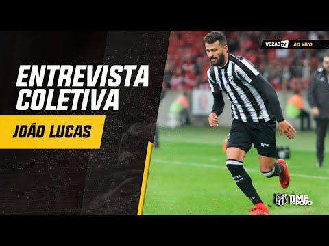 COLETIVA Coletiva João Lucas  29082019  Vozão TV