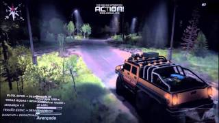 Spintires Simulator  Mod ST14 - Hummer H2 SUT 6x6 screenshot 1