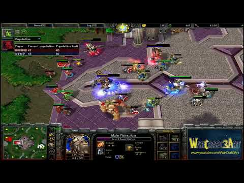 Sok(HU) vs Lyn(ORC) - WarCraft 3 Frozen Throne - RN3096