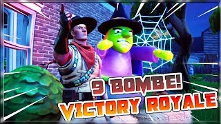 9 BOMBE and REAL VITTORY! INSTRUCT A TEAM ONLY! FORTNITE ITA