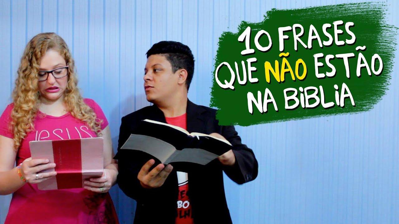 Sr E Sra Lobos 10 Frases Que Não Estão Na Bíblia Youtube