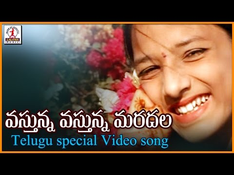 Super Hit Telugu Love Songs | Vastunna Vastunna Maradhala Song | Lalitha Audios And Videos