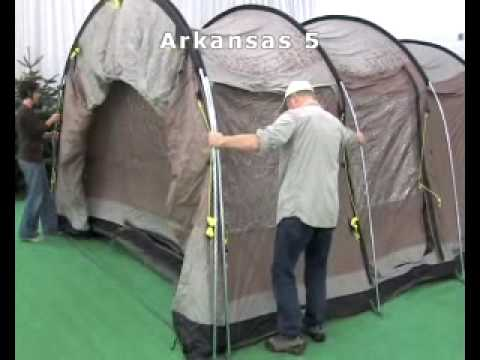 Tente Outwell arkansas & Tente Outwell arkansas - YouTube
