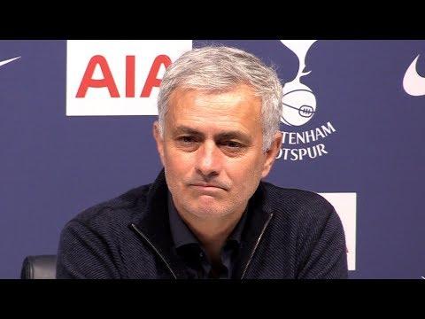 Tottenham 2-0 Man City - Jose Mourinho FULL Post Match Press Conference - Premier League - SUBTITLES