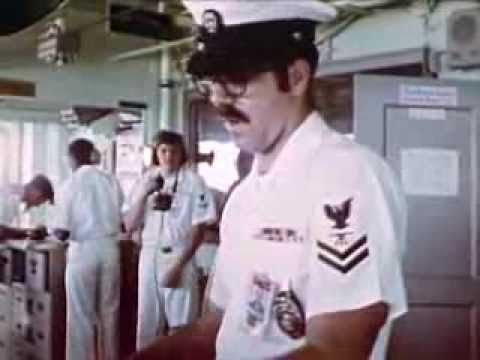 Navy Officer Career: The Chiefs (1975) - USS California - CharlieDeanArchives / Archival Footage