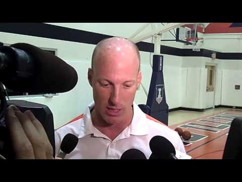 Coach Groce Interview 8/22/14